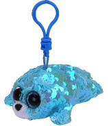 Ty Flippables Waves the Aqua Seal Sequin Clip