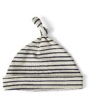 Petit Pehr Stripes Away Knot Hat Ink Blue