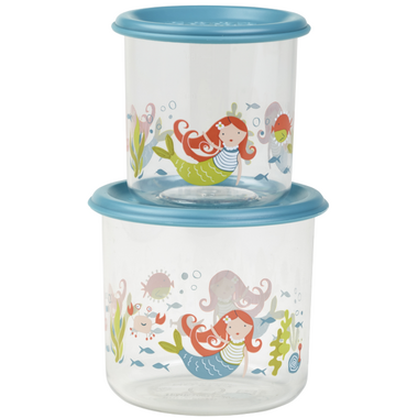 Sugarbooger Good Lunch Large Snack Containers Isla the Mermaid