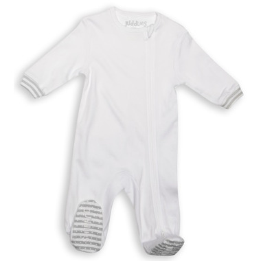 Juddlies Sleeper White & Grey