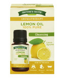 Nature's Truth Aromatherapy 100% Pure Cleansing Lemon Oil