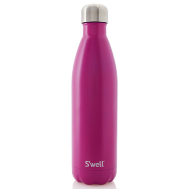 S\'well Satin Collection Stainless Steel Water Bottle Pomegranate