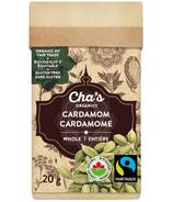 Cha's Organics Cardamom Whole
