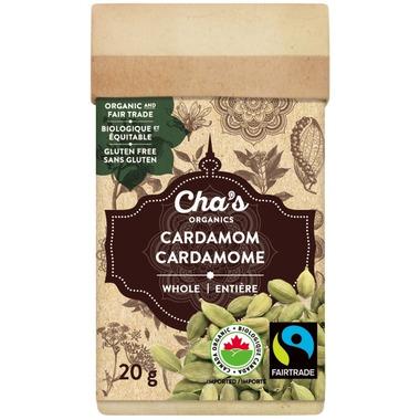 Cha\'s Organics Cardamom Whole