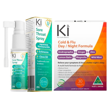 Martin & Pleasance Ki Cold & Flu Bundle