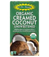 Let's Do...Organic Crème de Coco Non Sucrée Biologique