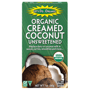 Let\'s Do...Organic Unsweetened Creamed Coconut