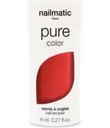 nailmatic Amour Nail Polish Red Shimmer