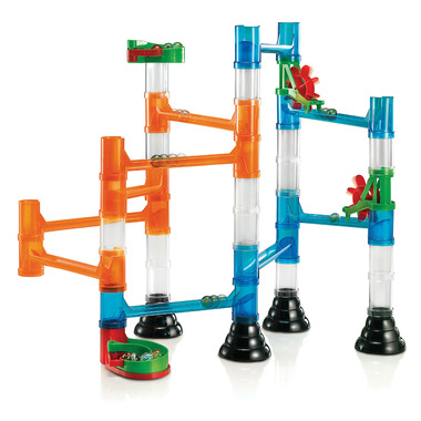 Quercetti Marble Run Transparent 46 Pieces