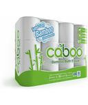 Caboo Bamboo & Sugarcane Bathroom Tissue Jumbo Rolls 2 Ply