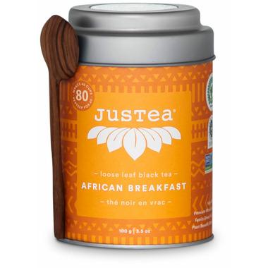JusTea Loose Leaf Black Tea African Breakfast