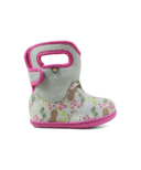 Bogs Baby Waterproof Boots Woodland Friends Light Gray Mutli