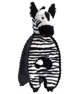 Charming Pet Products Cuddle Tug Zebra Dog Toy