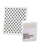 No Tox Life Dish Block Bar & Swedish Sponge Cloth Bundle
