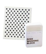 No Tox Life Dish Block Bar & Swedish Sponge Cloth Bundle