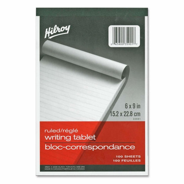 Hilroy Social Stationery 6x9 Writing Tablets
