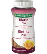 Nature's Bounty Biotin Plus Gummies