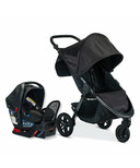 Britax B- Free Travel System Midnight