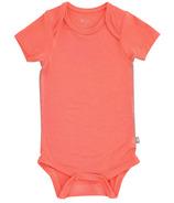 Kyte BABY Short Sleeve Bodysuit Melon