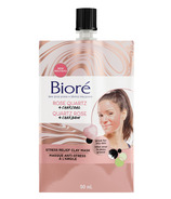 Biore Rose Quartz + Charcoal Stress Relief Clay Mask