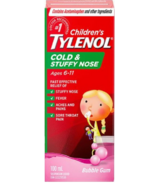 Tylenol Children's Cold & Stuffy Nose Suspension Liquid