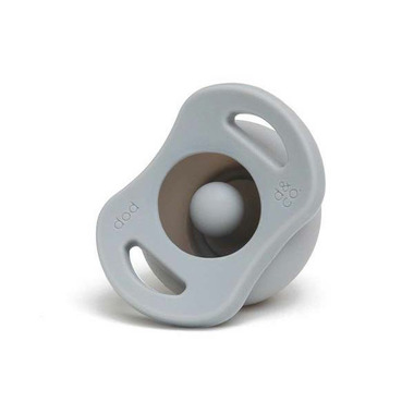 Doddle & Co. The Pop Pacifier Oh Happy Grey