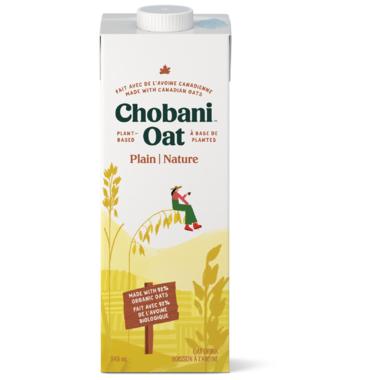 Chobani Plain Oat Beverage