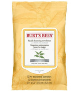 Burt's Bees Facial Cleansing Towelettes with White Tea Extract, 10