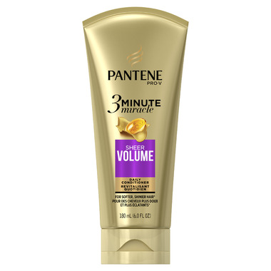 Pantene Sheer Volume 3 Minute Miracle Daily Conditioner