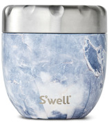 S'well Eats Stainless Steel Thermal Container Blue Granite