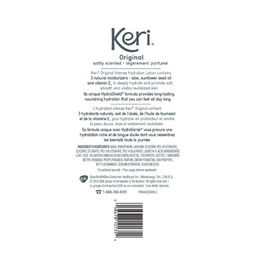 Keri Original Intense Hydration Soft Scented Body Lotion