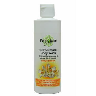Penny Lane Organics 100% Natural Luxurious Body Wash Orange Blossom