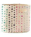 Petit Pehr Painted Dots Bin