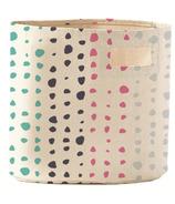 Pehr Designs Petit Pehr Painted Dots Bin