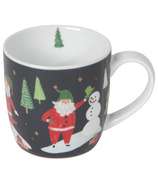 Now Designs Porcelain Mug Must Be Santa