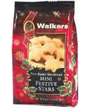 Walkers Mini Festive Shortbread Stars