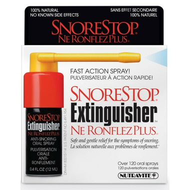 SnoreStop Extinguisher Throat Spray