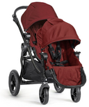 Baby Jogger City Select Black Frame & Second Seat Kit Garnet