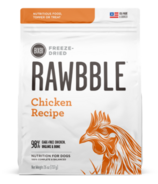 BIXBI Rawbble Freeze-Dried Dog Food Chicken