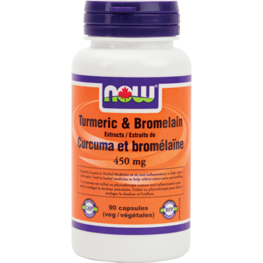NOW Foods Turmeric & Bromelain Extract