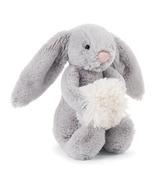 Jellycat Bashful Grey Snow Bunny Small
