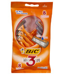 BIC 3 For Men Disposable Razors