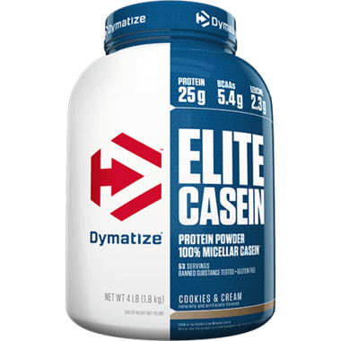 Dymatize Nutrition Elite Casein Cookies & Cream