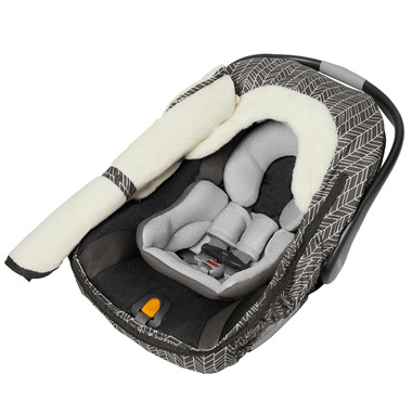Skip Hop Stroll and Go Car Seat Cover Grey Feather