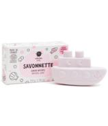 nailmatic Organic Kids Boat Shaped Soap Raspberry
