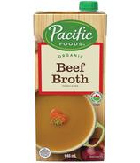 Bouillon de boeuf biologique Pacific Foods