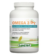 Land Art Omega 3 Cold Pressed Oil Softgels