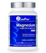 CanPrev Magnesium + Vegan D3 & K2 for Bones