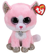 Ty Beanie Boos Fiona Pink Cat