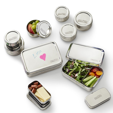 DALCINI Stainless Steel Food Container Set